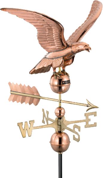 Copper Eagle Weathervane