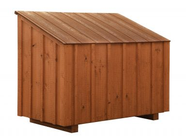 chicken coop accessories BB Cedar Feed Bin