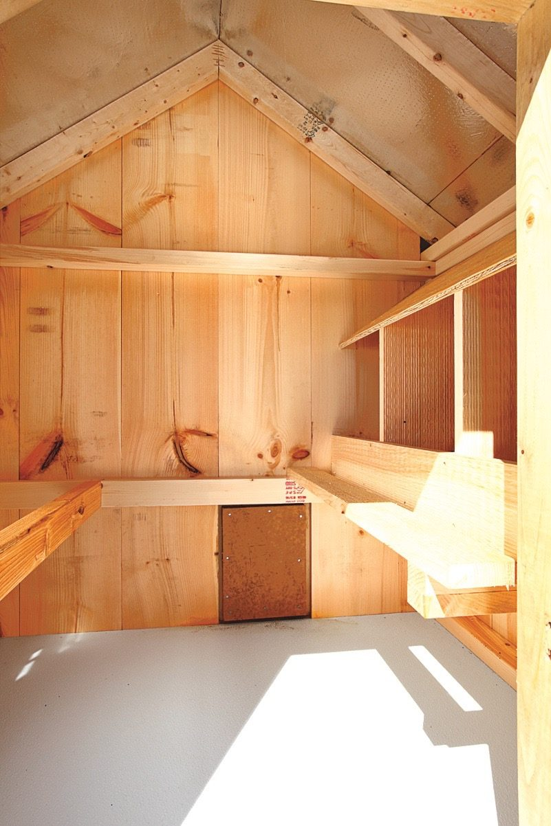 Deluxe Chicken Coops See Our Chicken Coop Interiors