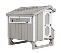 prefab chicken coops Q46 back