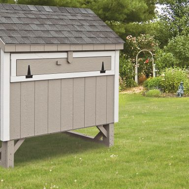 pictures of chicken coops grey