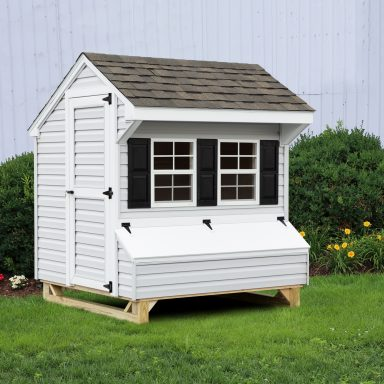 pics of chicken coops vinyl front