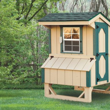 pics of prefab chicken coops 4x4 Quaker