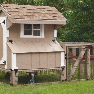chicken coop tractor 3x4 Quaker Tractor 2