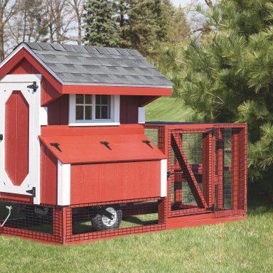 chicken coop tractor 4x4 tractor painted