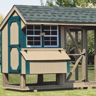 pictures of chicken coops and run 4x8