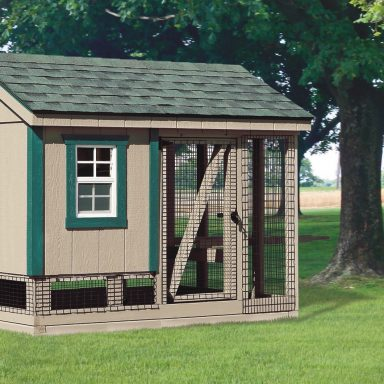 pictures of chicken coops and run no wheels