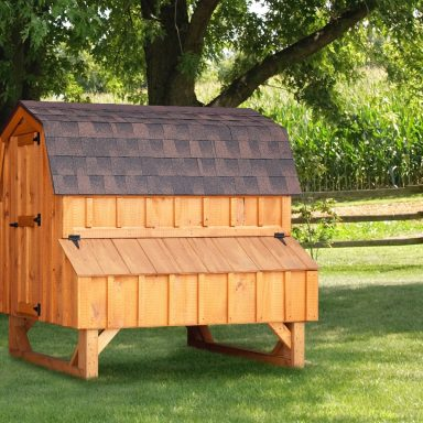 images of chicken coops Cedar Stain