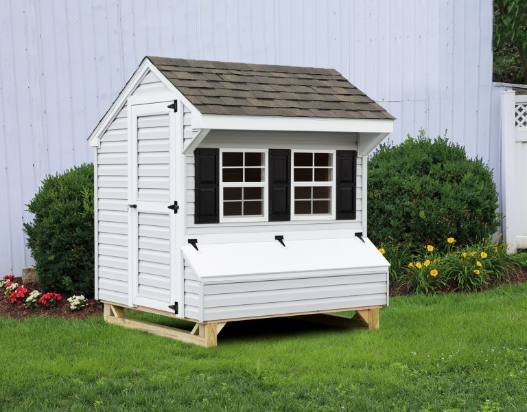 vinyl backyard chicken coops