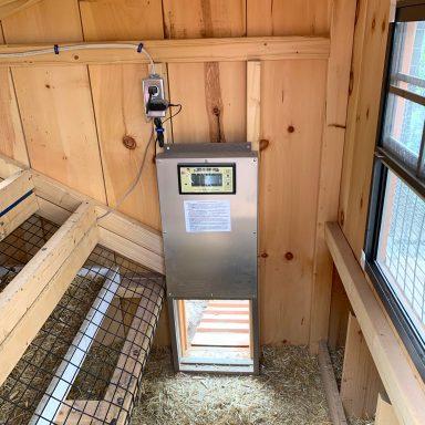 auto door chicken coop in utah 1