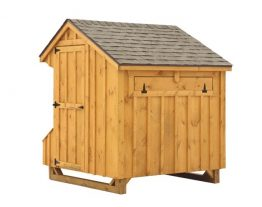 prefab chicken coops Q56 BACK