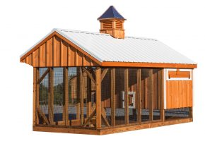 chicken coop and run Q716C back BB