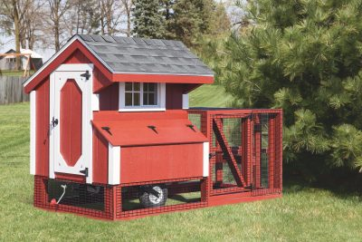 chicken coop tractor 4x4 tractor painted