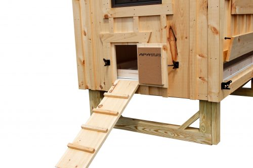 a frame chicken coop BB A46 4
