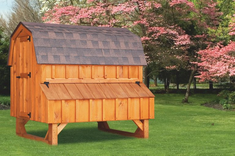 barn style chicken coops 4x6 Dutch