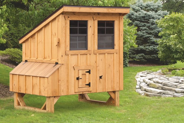 small chicken coops 4x5 Lean To