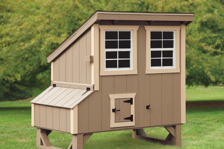 small chicken coops 4x5 Lean To 1