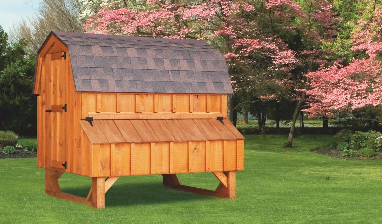 wooden chicken coops 4x6 Dutch