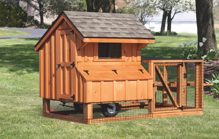 wooden chicken coops Q44T BB