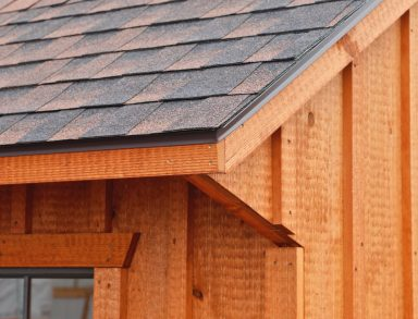 asphalt shingles with aluminum drip edge